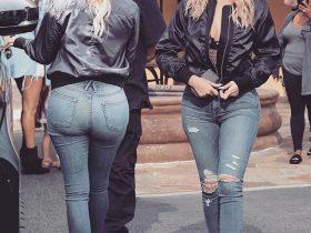 牛仔裤的穿着怎么穿都好看,呈现柔美的风格